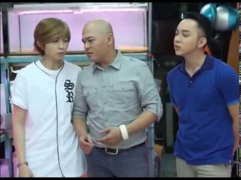 [Bếp Chiến] Gil Lê và La Quốc Hùng làm món Kimbap (Phần 1)