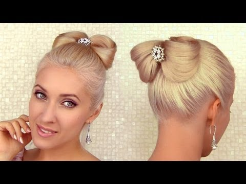 Side Swept Rolled Updo Hairstyle For Medium Short Hair Tutorial
