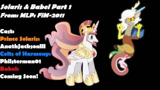 Return To Harmony: Princess Celestia And Discord (Colt