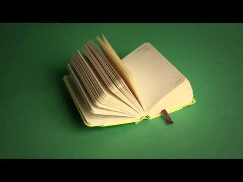 Moleskine: Stop Motion video