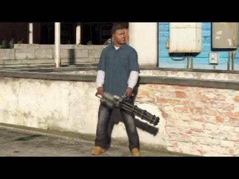 ★ GTA 5 - How To Get a Minigun!,