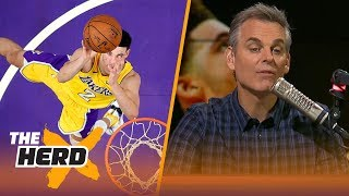 Did the Lakers know what they were getting into when they drafted Lonzo Ball? | THE HERD