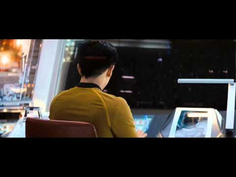 Star Trek XI (2009) - Enterprise and Fleet leaves Space Dock [1080P HD