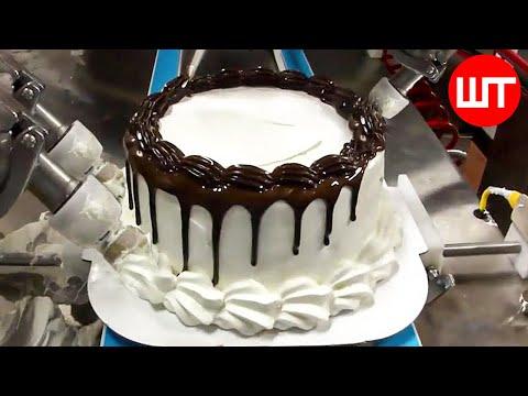 Ako sa robia torty v továrni