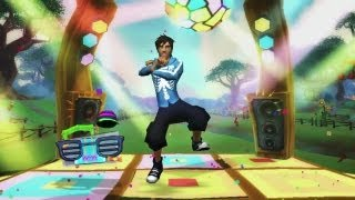 Gangnam Style Dance Move in Free Realms !