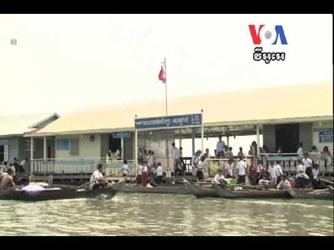 Cambodia's Floating Villages Face Uncertain Future