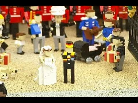 William dan Kate Menikah di Lego