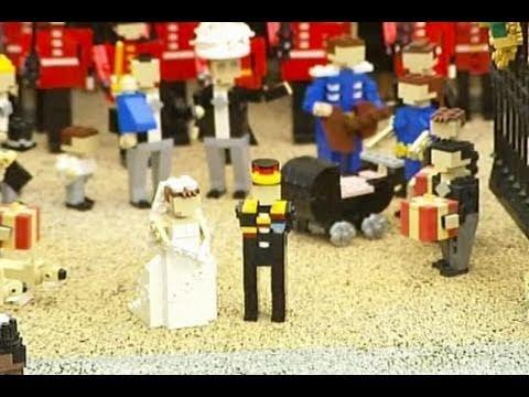 William dan Kate Menikah di Lego