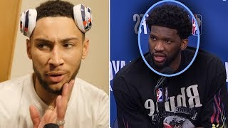 """Joel Embiid Says """"Ben Is KILLING OUR TEAM"""" And Ben Simmons WANTS PAYBACK"""