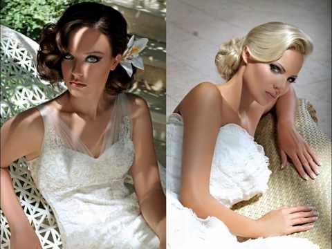 Vestuvinės šukuosenos ir makiažas - klasika, retro, vintage stilius