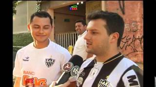 Atleticanos v�o ao Independ�ncia e cobram melhorias no time