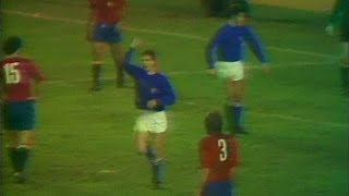 25 gennaio 1978 - Marco Tardelli segna il primo gol in Nazionale - Almanacchi Azzurri