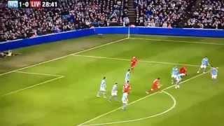 Gol Spektakuler Gerrard Manchester City Vs Liverpool 2-2