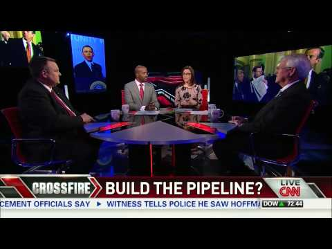 Van Jones on Crossfire: Debunking myths behind the Keystone Pipeline