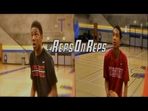 #RepsOnReps Workout Series.  Elijah Hardy and Naseem Gaskin are 2 of the Top 2018 Guards on the West Coast.  Watch there workout with KP and Project Basketball Staff.