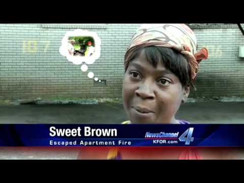 Sweet Brown - Ain't Nobody Got Time for That House Fire Lady