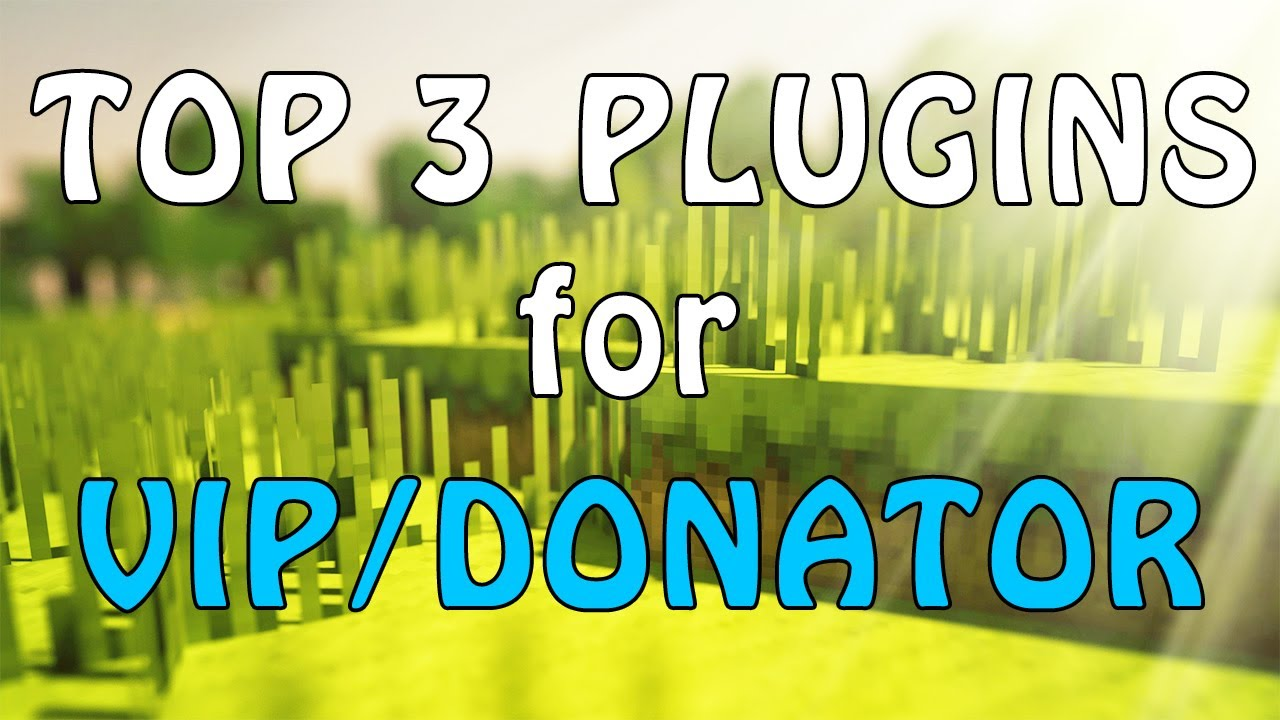 Top Donator Plugins