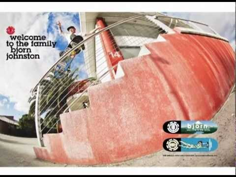 "ELEMENT AUSTRALIA ""BJORN JOHNSTON - WELCOME TO THE AUSTRALIA PRO TEAM"" FULL VIDEO PART"