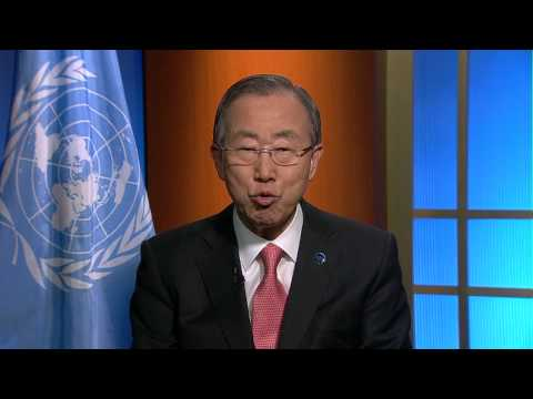 UN Secretary General Ban Ki-moon message for World Radio Day 2014
