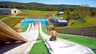 Cool Slip 'n Slide Pool Party