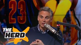 Colin Cowherd reacts to LeBron James and the Cavaliers sweeping the Pacers | THE HERD