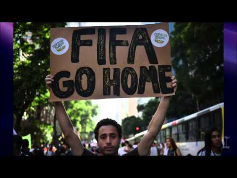 Brazil World Cup 2014: Sao Paulo protests