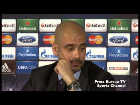 Pep Guardiola pre Arsenal vs Bayern Munich