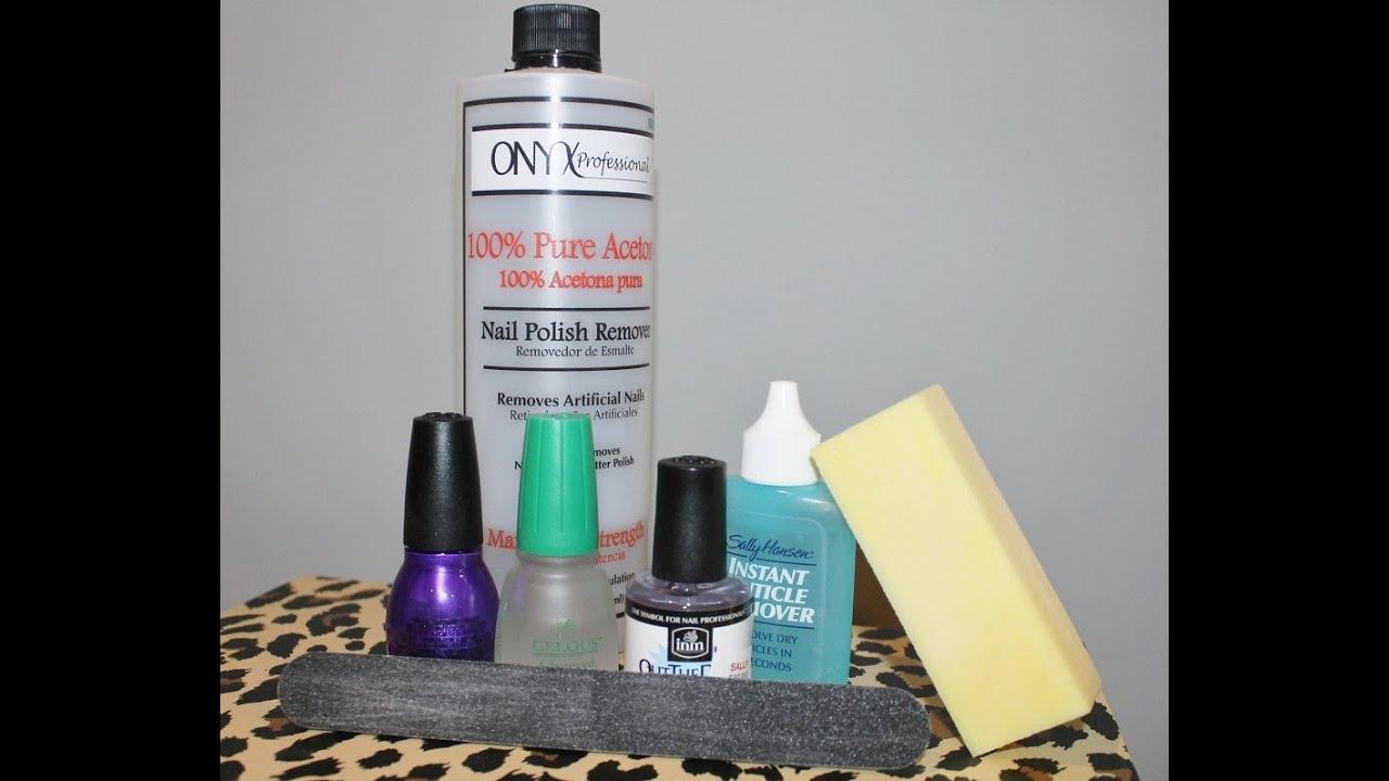 DIY GEL Manicure! NO UV LIGHT! - YouTube
