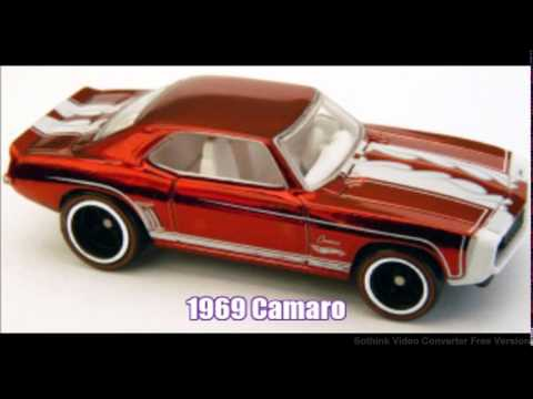 Top-Ten Chevy Hot Wheels Cars