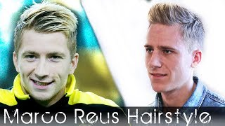 Soccerplayer Haircut Marco Reus Inspired Bleaching
