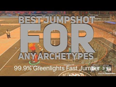 NBA 2k17: 99.9% Greenlight Fast Jumpshot That Nobody Uses!!! Best Jumpshot In 2k