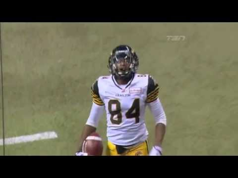 Henry Burris 14 yard touchdown pass to Bakari Grant - August 30, 2013