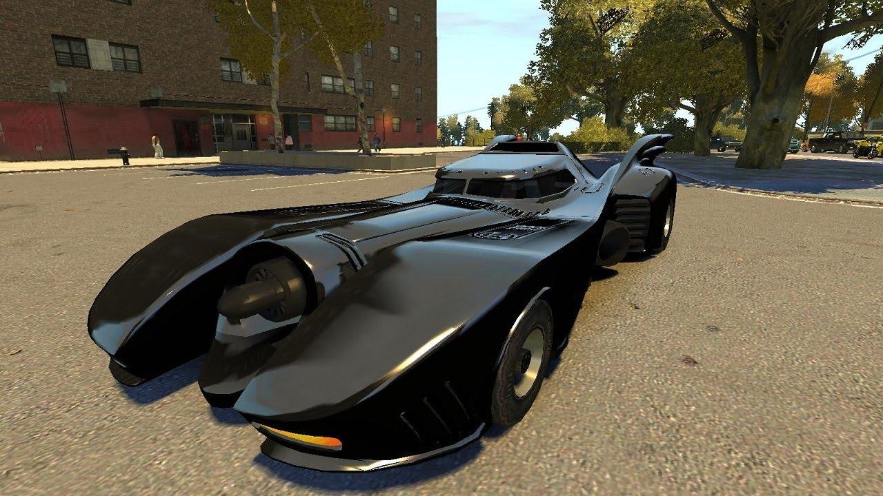 Grand Theft Auto Iv Batmobile Script Mod Official
