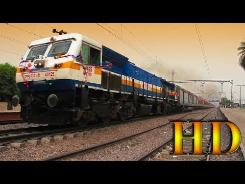 IRFCA - First Run Of The Most Awaited Train, 22461 New Delhi Katra AC Superfast Express