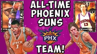 #WeArePHX All-Time Phoenix Suns - NBA 2K15 MyTeam - Onyx Steve Nash and Amare Stoudemire - FGF!