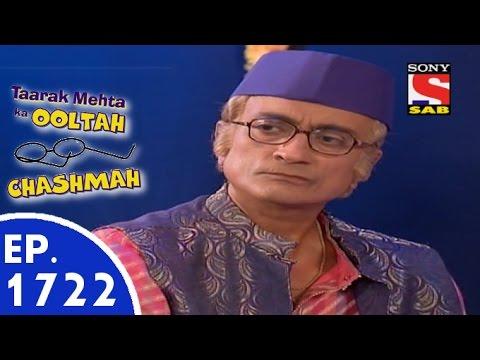 Taarak Mehta Ka Ooltah Chashmah - तारक मेहता - Episode 1722 - 22nd July, 2015