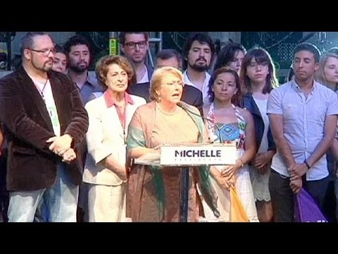 Socialist Michelle Bachelet wins Chile's presidential run-off with a landslide