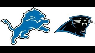 Detroit Lions Vs Carolina Panthers WEEK 2 NFL PREVIEW