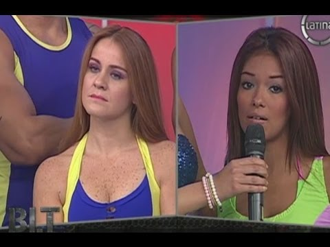 Shirley Arica a Lourdes Sacín: