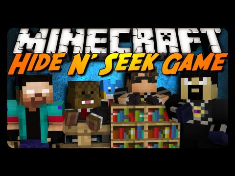 Minecraft Mini-Game: HIDE N' SEEK #1! w/ AntVenom & Friends!, Mini-Game Playlist: http://www.youtube.com/playlist?list=PLR50dP3MW9ZUbr5nOVt0gfD66AuFvRI3X Server: hivemc.eu Channels: http://www.youtube.com/SkyDoesMinecra...