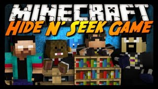 Minecraft Mini-Game: HIDE N' SEEK #1! w/ AntVenom & Friends!