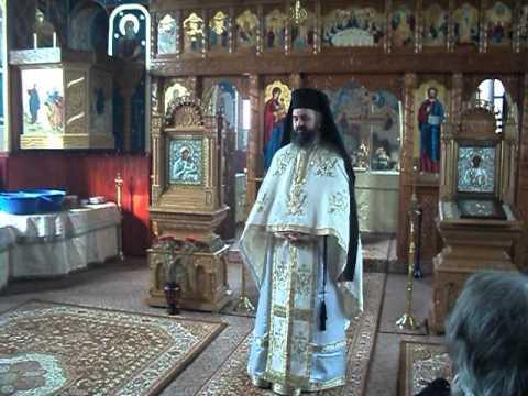 Arhim. Dumitru Cobzaru - Predica la Duminica Fiului Risipitor, Agristeu-Mures, 12.02.12