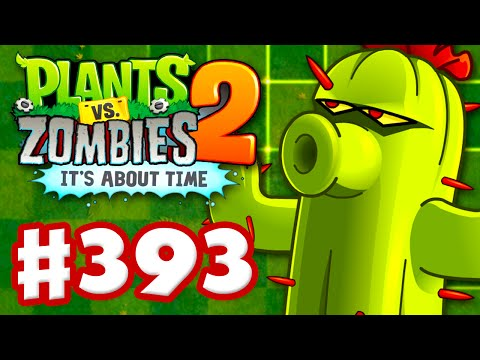 Plants vs. Zombies 2: It's About Time - Gameplay Walkthrough Part 393 - Cactus! (iOS)