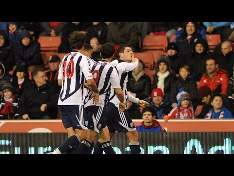 Stoke City 1 West Bromwich Albion 2 - 2011/12 Premier League season