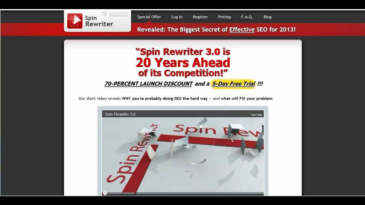 free spin article online