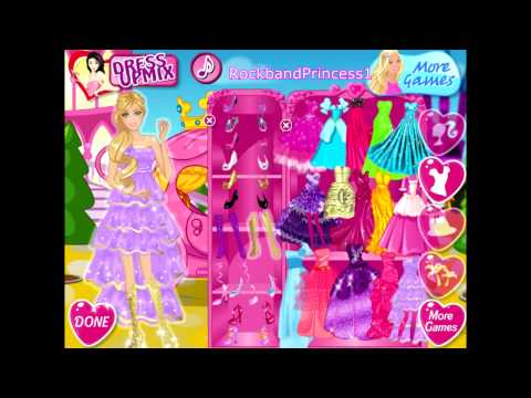Barbie Free Dress Up Game