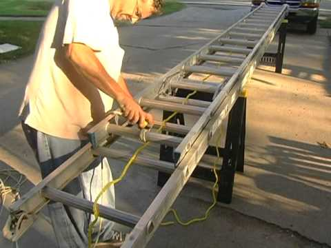 Extension Ladders Rope Mpg Youtube