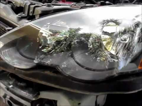 2005 Acura  Type on Acura Rsx Type S Headlight Bulb Replacement   Youtube