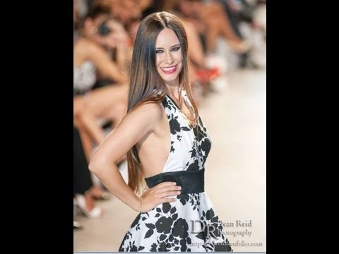 Ruth Diaz Azteca America Celebrity CatWalk Latino Fashion Week 2013