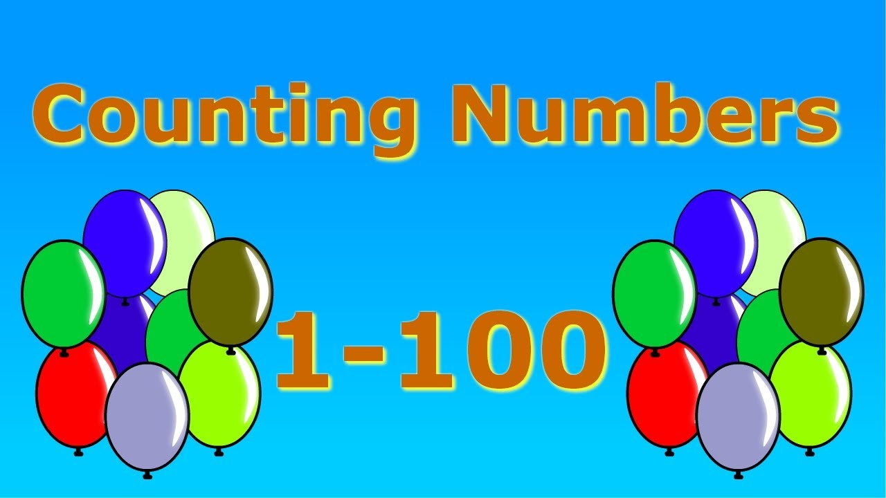 Counting Numbers 1-100